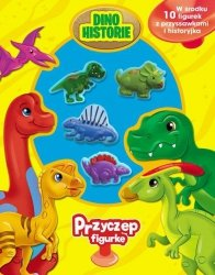 PRODUKT PREMIOWANY Dinohistorie Przyczep figurkę