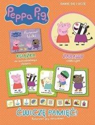 Świnka Peppa Bawię się i uczę 3 Ćwiczę pamięć!