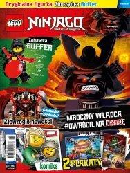 LEGO Ninjago magazyn 6/2018 + Złoczyńca Buffer