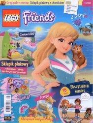 LEGO Friends magazyn 7/2018 + sklepik plażowy z chomikiem
