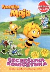 Pszczółka Maja Naklejaj raz po raz Szczęśliwa koniczynka