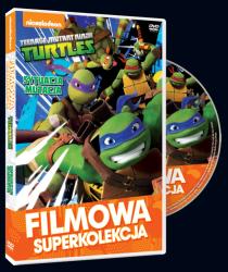 Filmowa Superkolekcja Wojownicze Żółwie Ninja Sytuacja mutacja DVD