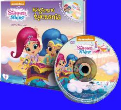 Shimmer i Shine Filmowe opowieści 2 Magiczne życzenia (książka + DVD)