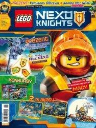LEGO Nexo Knights magazyn 11/2017 + Kamienny Olbrzym