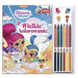 Shimmer i Shine Zabawy z kredkami 1 Wielkie kolorowanie
