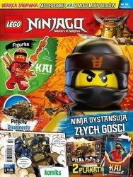 LEGO Ninjago magazyn 10/2018 + KAI z mocami żywiołów