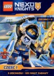 PREZENT ZA ZAKUPY za 50 zł - DVD LEGO Nexo Knights cz.1