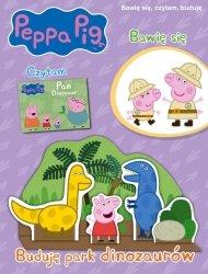 Świnka Peppa Bawię się, czytam, buduję 9 Buduję park dinozaurów
