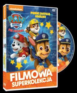 Filmowa Superkolekcja Psi Patrol Pieski ratują króliki DVD