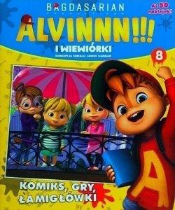 Alvin i wiewiórki 8 (z naklejkami)