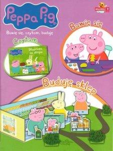 Świnka Peppa Bawię się, czytam, buduję 3 Buduję sklep