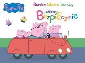 Świnka Peppa Bardzo Ważne Sprawy 7 Jeździmy bezpiecznie