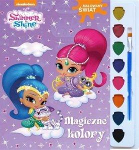 Shimmer i Shine Malowany Świat Magiczne kolory