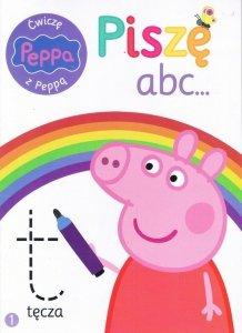 Świnka Peppa Ćwiczę z Peppą 1 Piszę abc…