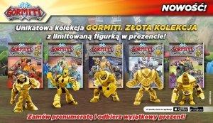 PRENUMERATA Gormiti Złota kolekcja