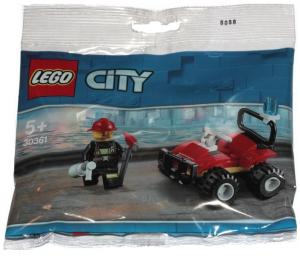 Scooby-Doo! Wydanie specjalne 1/2019 + LEGO City 30361 Quad strażacki