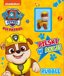 Psi Patrol Pieski w akcji 5 Rubble (z figurką)