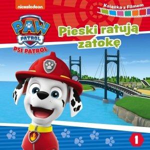Psi Patrol Książka z filmem 1 Pieski ratują zatokę