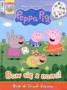 Świnka Peppa magazyn 4/2017 Baw się z nami! + karty Peppy + książka