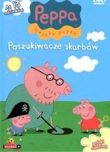 Świnka Peppa magazyn Wydanie specjalne z DVD Poszukiwacze skarbów (2/2013)