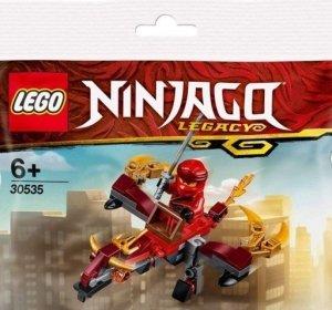 Cartoon Network Wydanie specjalne 2/2018 + LEGO Ninjago 30535 Ognisty smok Kaia