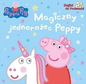 Świnka Peppa Bajki do Poduszki 2 Magiczny jednorożec Peppy