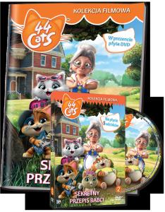 44 Koty Kolekcja filmowa 2 Sekretny przepis babci (DVD)