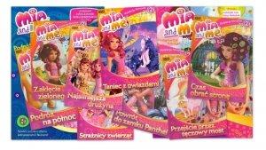 Mia i ja Kolekcja filmowa sezon 2 komplet (8 płyt DVD) + 2 książki