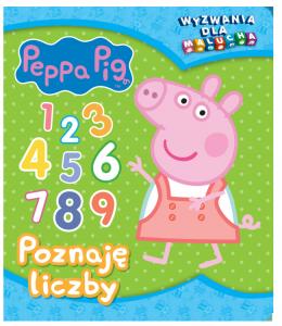 Świnka Peppa Wyzwania dla malucha 2 Poznaję liczby