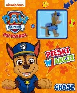 Psi Patrol Pieski w akcji 1 Chase (z figurką)