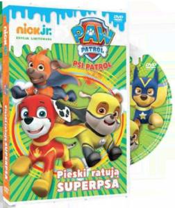 PREZENT ZA ZAKUPY za 90 zł - DVD Psi Patrol Pieski ratują Superpsa