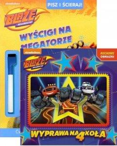 Blaze i Megamaszyny Zestaw 2 książek w supercenie