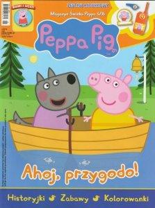Świnka Peppa magazyn 4/2016 Ahoj, przygodo! + Zestaw ratunkowy