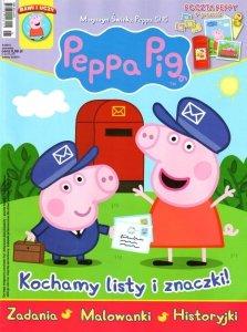 Świnka Peppa magazyn 5/2015 Kochamy listy i znaczki! + poczta Peppy
