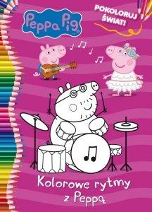 Świnka Peppa Pokoloruj świat! Kolorowe rytmy z Peppą