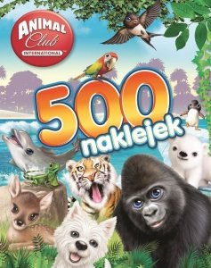 Animal Club 500 naklejek