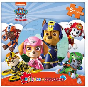 Psi Patrol Książka z puzzlami (Chase i Skye)