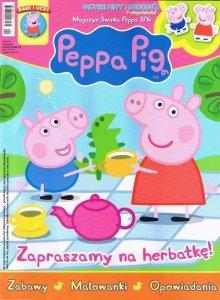 Świnka Peppa magazyn 3/2016 Zapraszamy na herbatkę! + pacynki Peppy i George'a