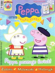 Świnka Peppa magazyn 09/2013 + telefon