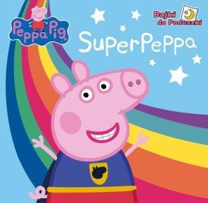 Świnka Peppa Bajki do poduszki 3 SuperPeppa