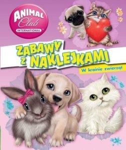 Animal Club Zabawy z naklejkami W krainie zwierząt