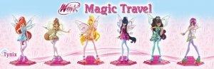 Winx Club Wydanie specjalne 2/2018 + prezent 1 z 6 figurek Magic Travel