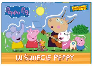 Świnka Peppa Nowy wymiar przygody W świecie Peppy (rozkładanka)