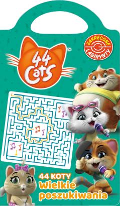 44 Koty Zakręcone labirynty Wielkie poszukiwania