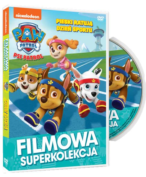 Filmowa Superkolekcja Psi Patrol Pieski ratują Dzień sportu DVD