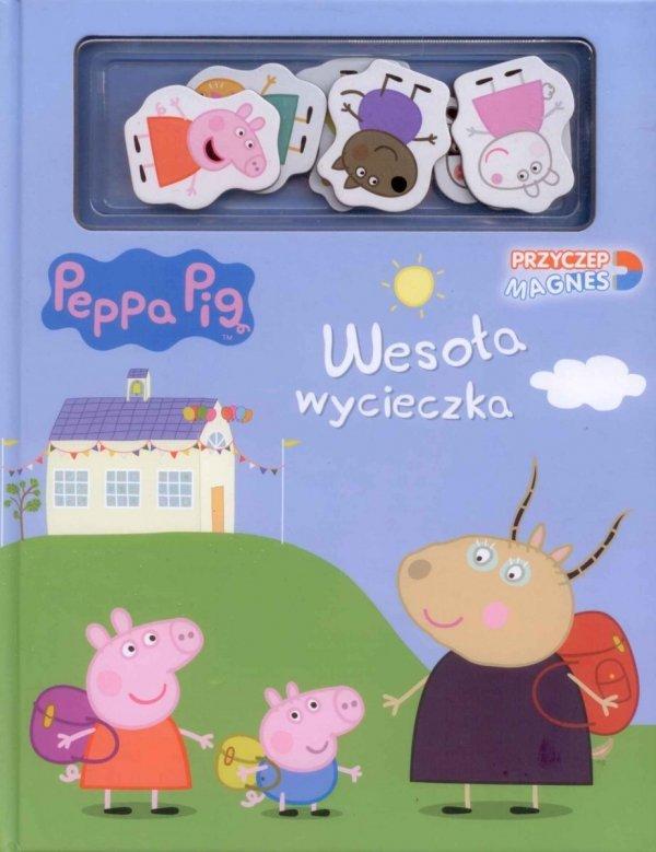 Świnka Peppa Przyczep magnes Wesoła wycieczka