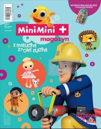 MiniMini+ magazyn 3/2017 + wyrzutnia kuleczek + niespodzianka