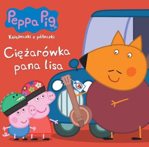 Świnka Peppa Książeczki z półeczki 71 Ciężarówka pana lisa