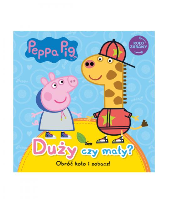 Świnka Peppa Koło zabawy Duży czy mały?