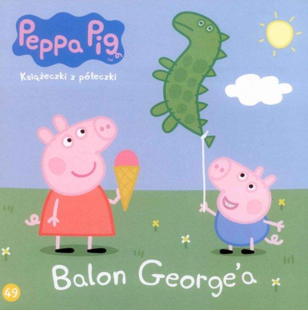 Świnka Peppa Książeczki z półeczki 49 Balon George'a